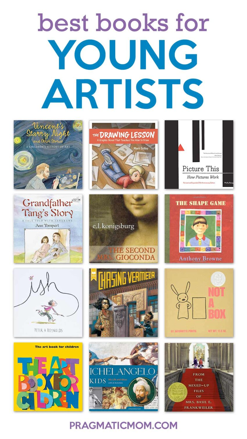 Best Books for Young Artists