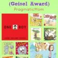 Geisel awards, best easy readers, best early readers