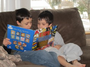 shared reading, reading together, reluctant readers