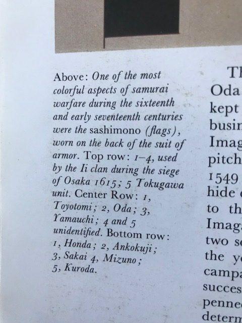Description of Mia Wenjen Daimyo Samurai Crest