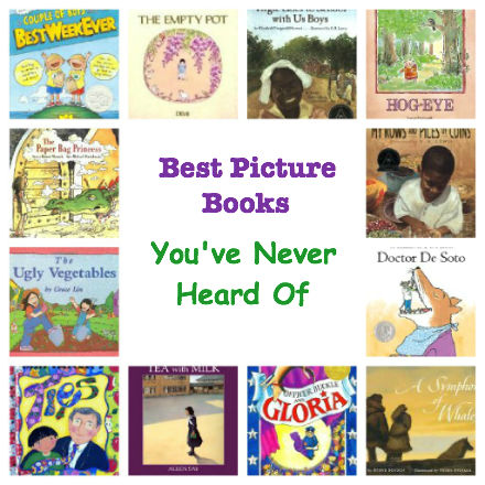 best picture books for kids, best picture books, best picture books you've never heard of