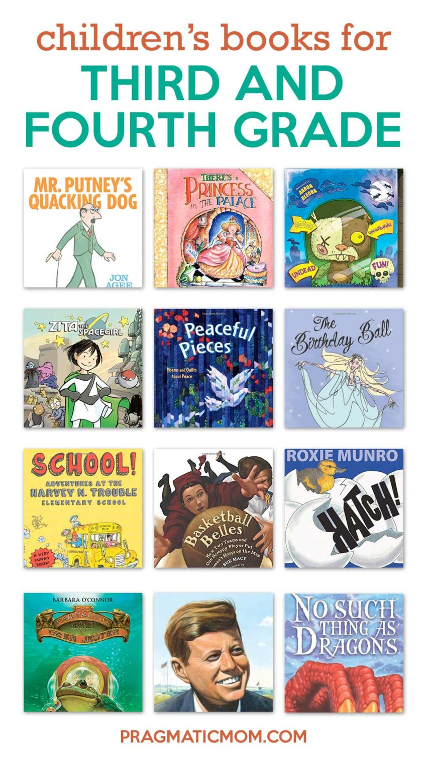 Books for 3rd Grade & 4th Grade