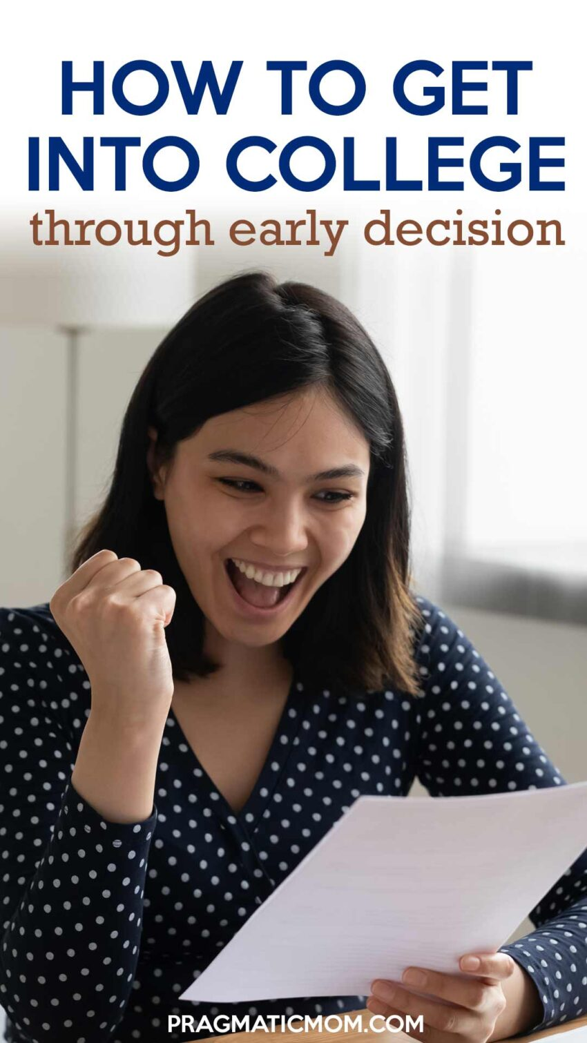 How to Get into College through Early Decision