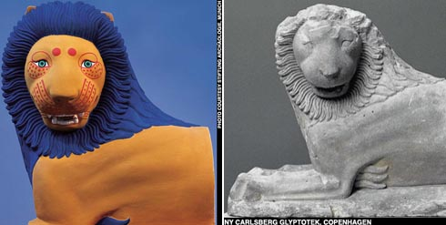 how Greek statues really looked