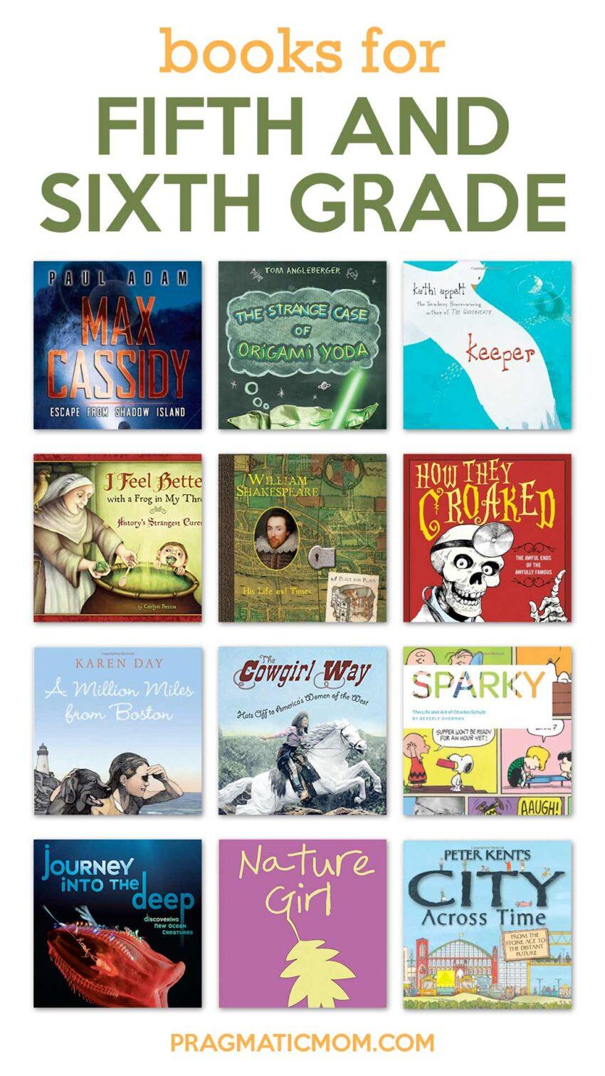 Books for 5th Grade and 6th Grade