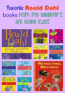 Happy Roald Dahl Day from My Daughter's 3rd Grade Class