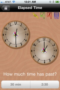 best telling time iphone ipad app for kids children elementary school students pragmaticmom pragmatic mom