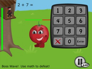 Math Ninja really fun most fun math facts gamer pragmatic mom iphone ipad ipod app