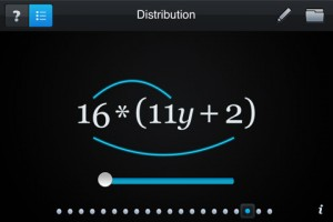 Algebra Touch best math apps for middle school high school PragmaticMom math apps iphone ipad ipod that tutor