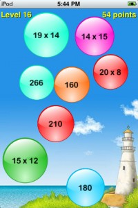 Pop Math really fun math fact game iphone ipad ipod PragmaticMom PragmaticMom
