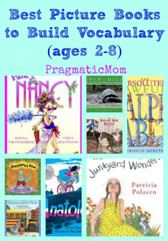 best picture books to build vocabulary