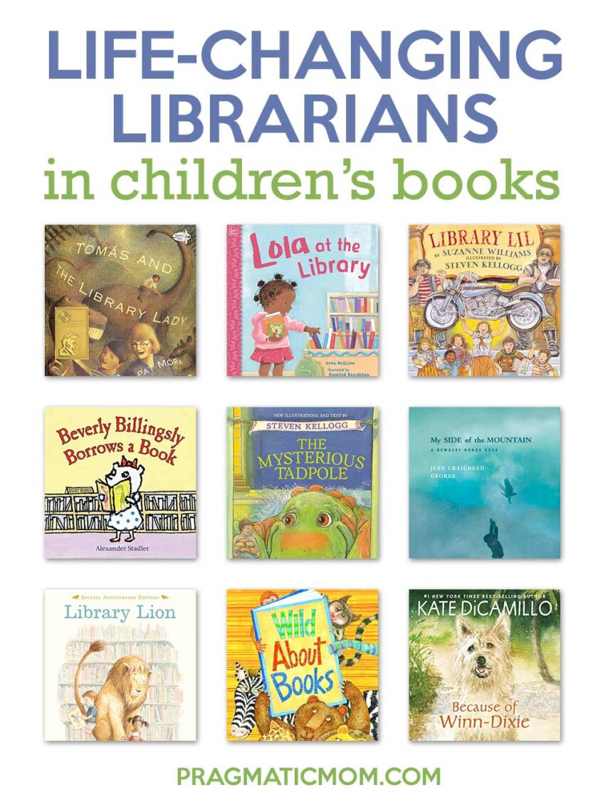 Life-Changing Librarians in Children's Books