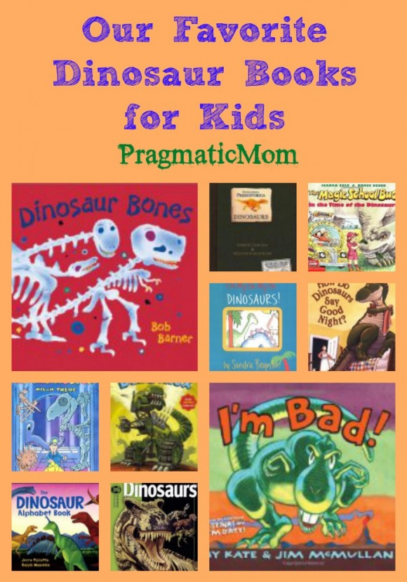 our favorite dinosaur books for boys