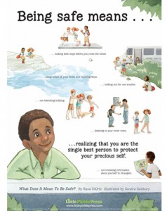 Be Safe Free Poster Pragmatic Mom