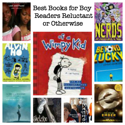 best books for boys, chapter books for boys, best books for reluctant readers