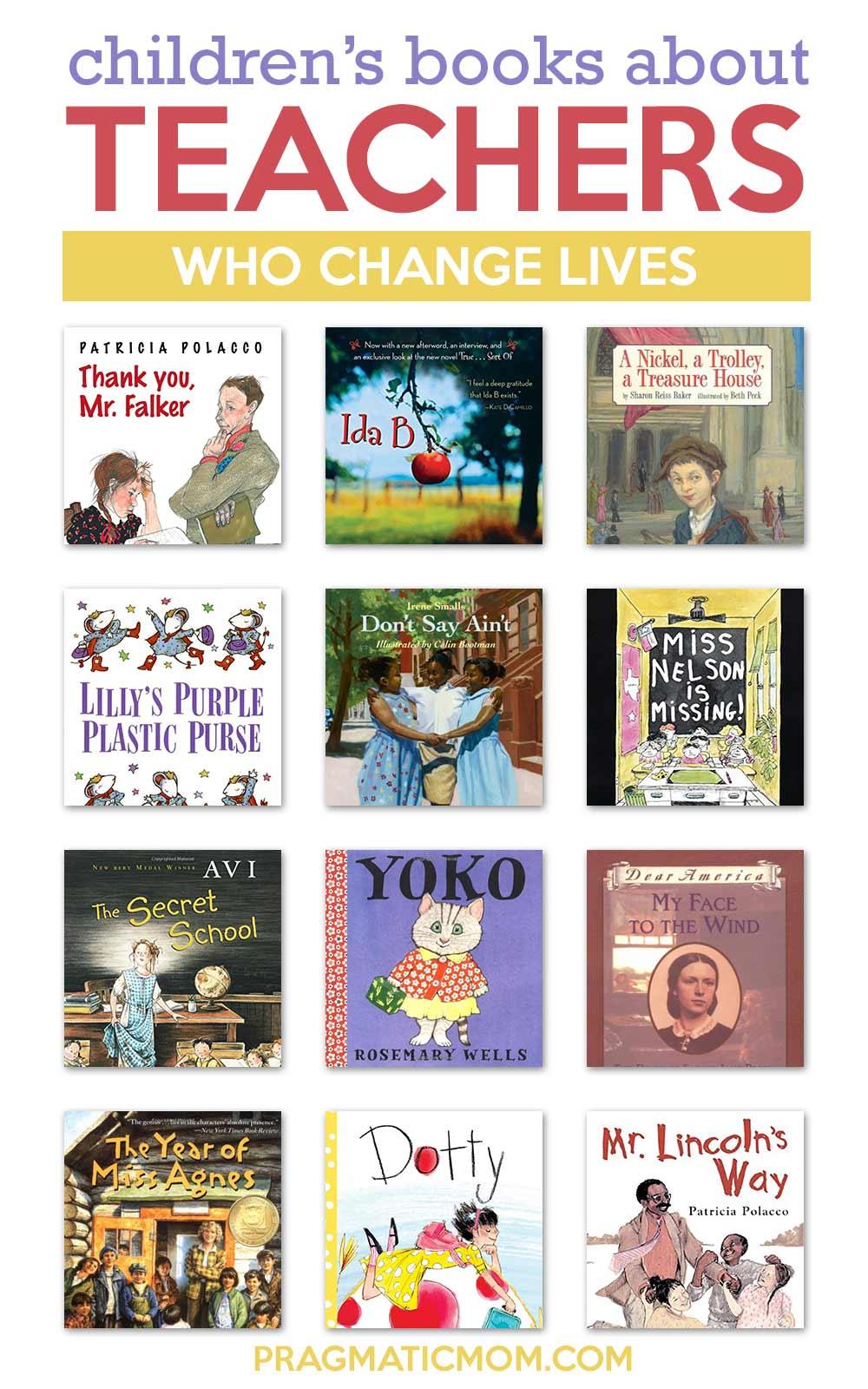 Children's books about teachers