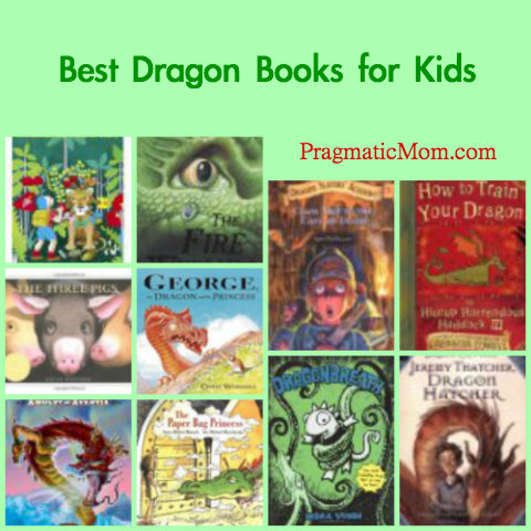 best dragon chapter books, best dragon picture books, best books for kids with dragons, dragons and books for kids