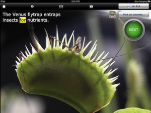 science grammar iPhone iPad app ILiveGrammar Botany PragmaticMom