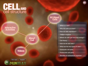 Cell and Cell Structure iPhone iPad PragmaticMom Pragmatic Mom best science apps
