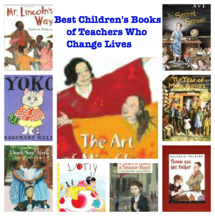 best books about teachers who change lives, best books to gift to teachers, best kids books about teachers,