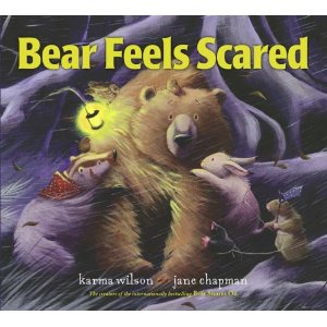 best picture books, bear feels scared