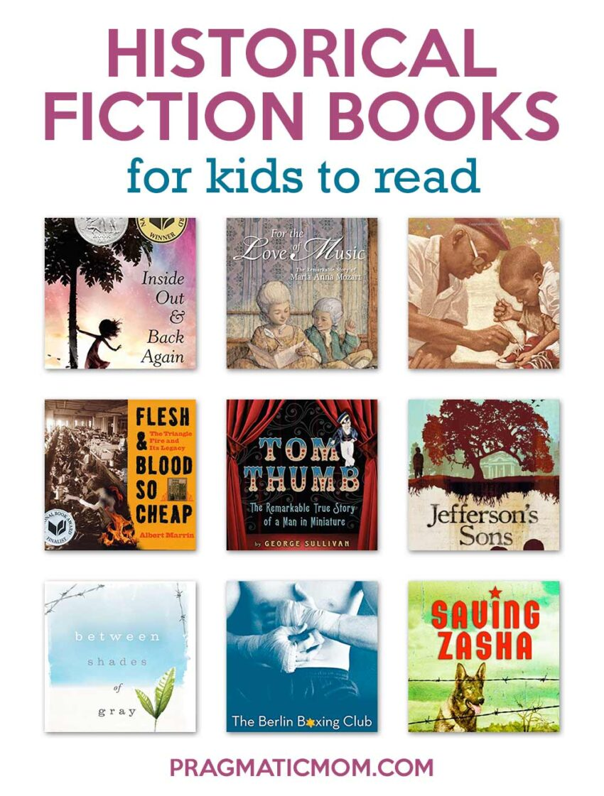 Best Historical Fiction for Kids