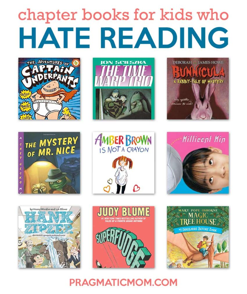 Books for Kids Who Hate Reading