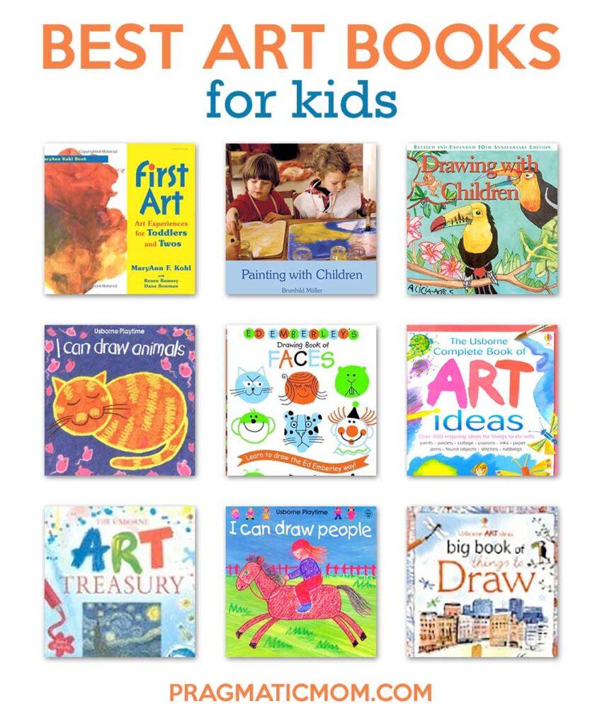 Best Art Books for Kids