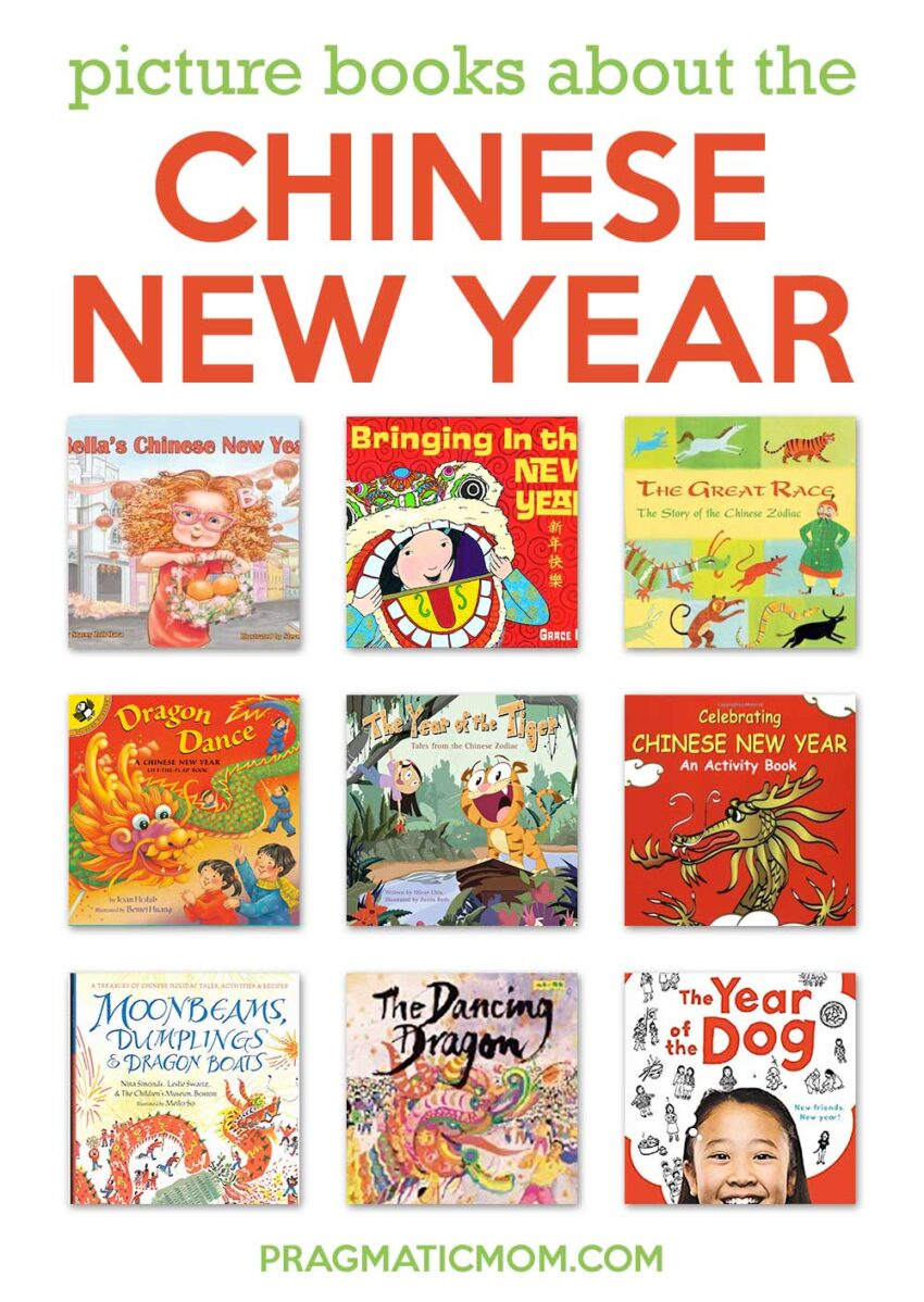 Best Chinese New Year Books for Kids