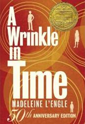 A Wrinkle in Time 50th Anniversary Edition Blog Tour PragmaticMom Book Jacket cover