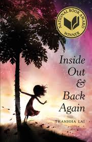Inside Out and Back Again, chapter book, Newbery,