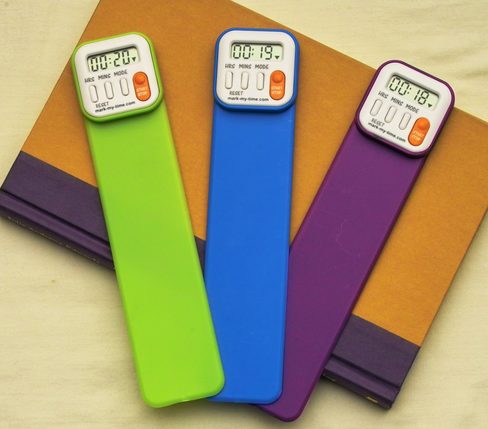 Mark My Time BookMark, fun toys to get kids to read