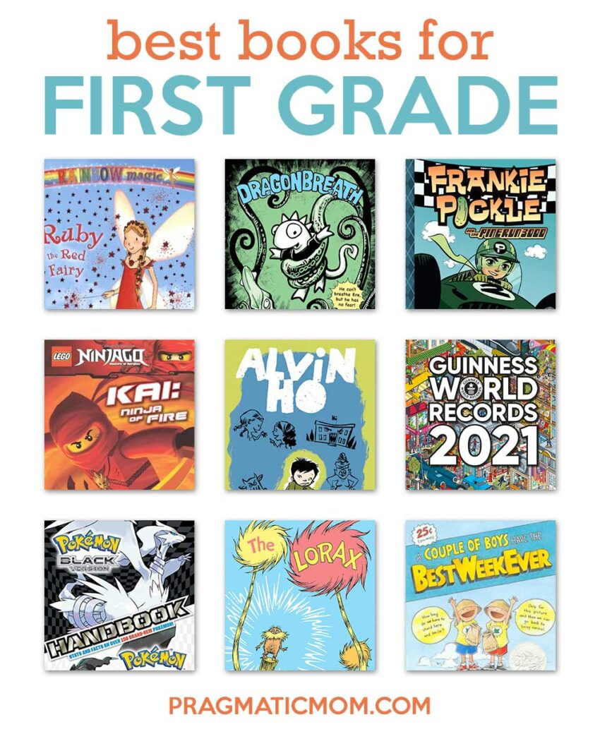 Best Books for First Grade