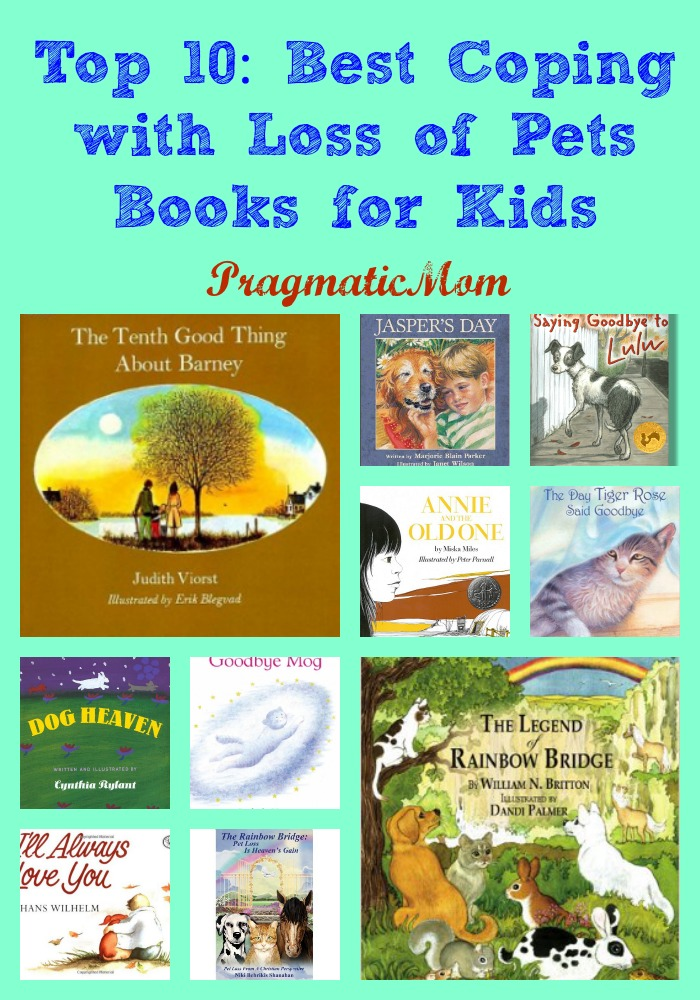 Best Books For Loss Of A Pet For Kids