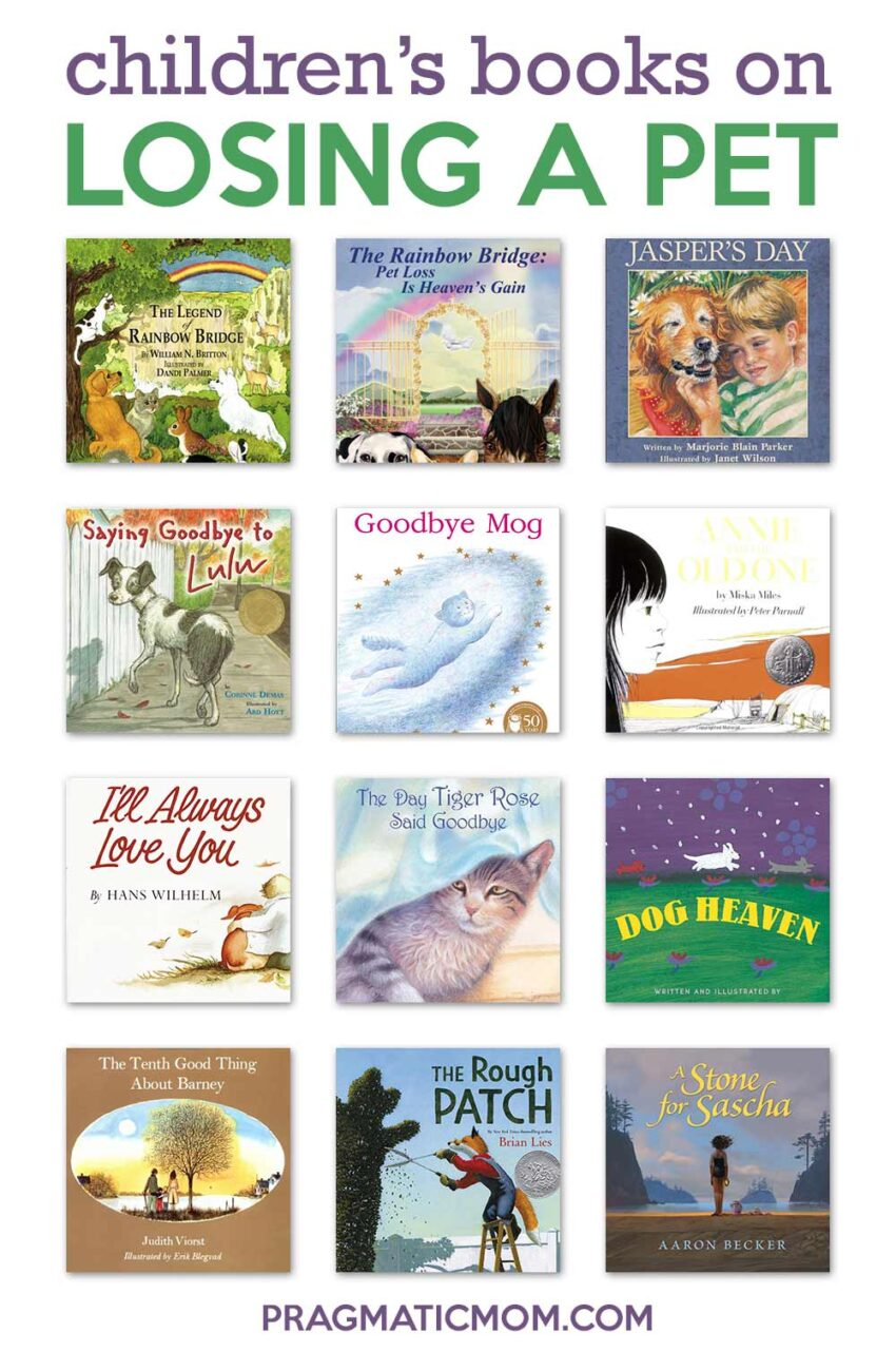 children's books on losing a pet