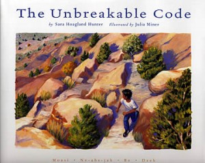 The Unbreakable Code, Sarah Hoagland Hunter, advanced picture book, book club for boys,