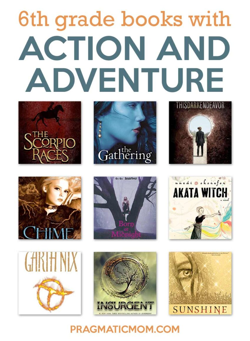 6th Grade Action Adventure Books