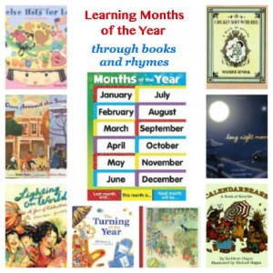 months of the year picture books for kids
