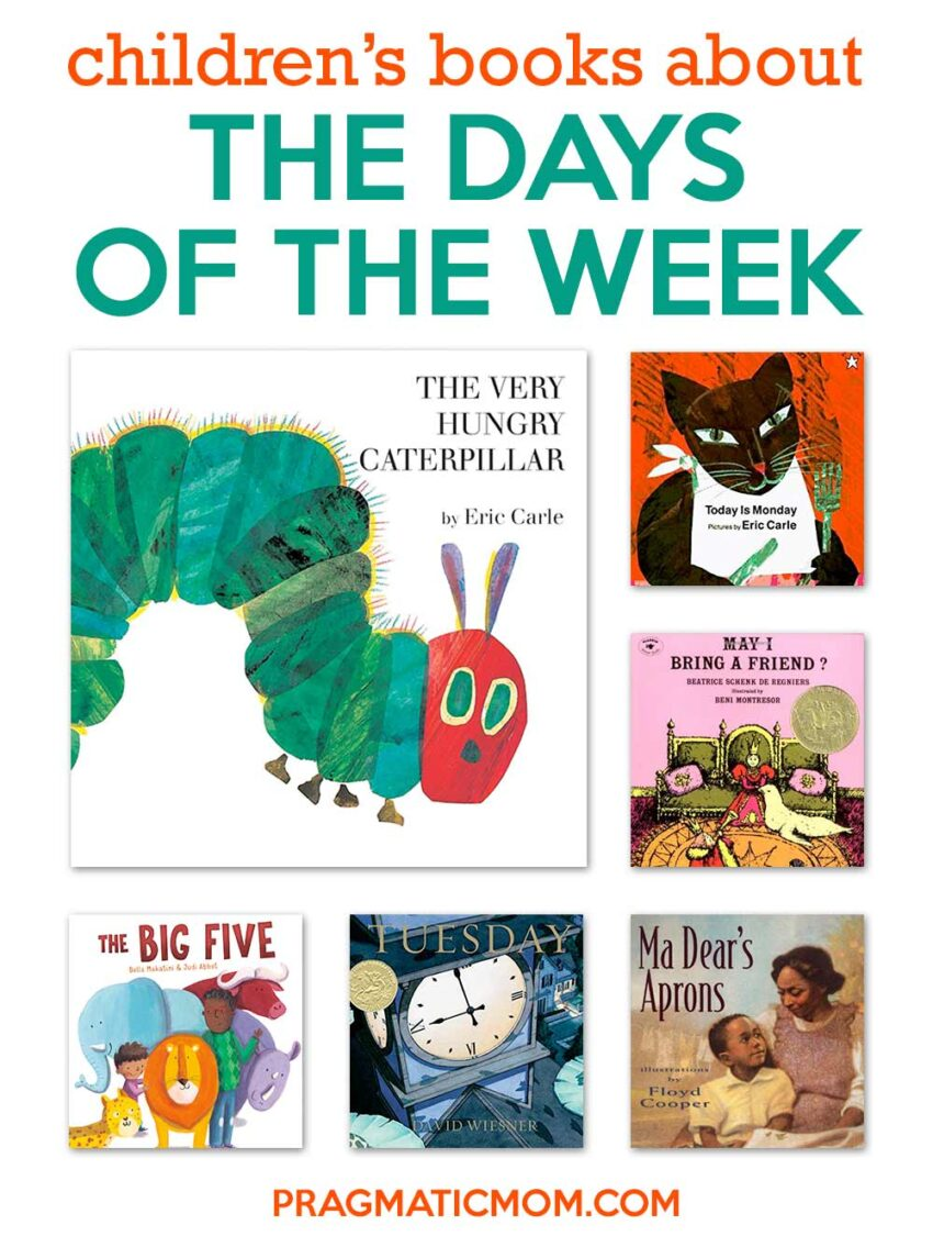Children's Books about the Days of the Week