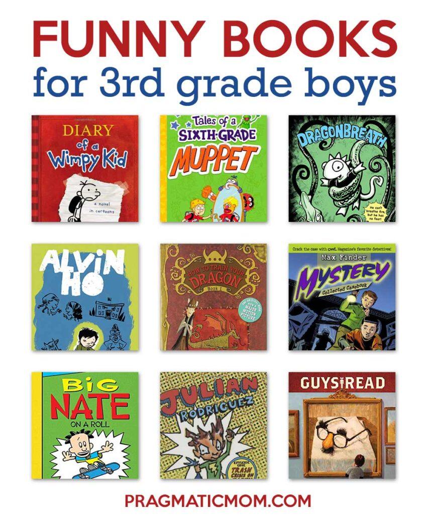 Funny books for 3rd grade boys