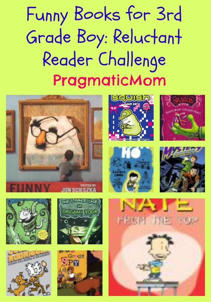 Funny Books For 3rd Grade Boy Reluctant Reader Challenge Pragmaticmom