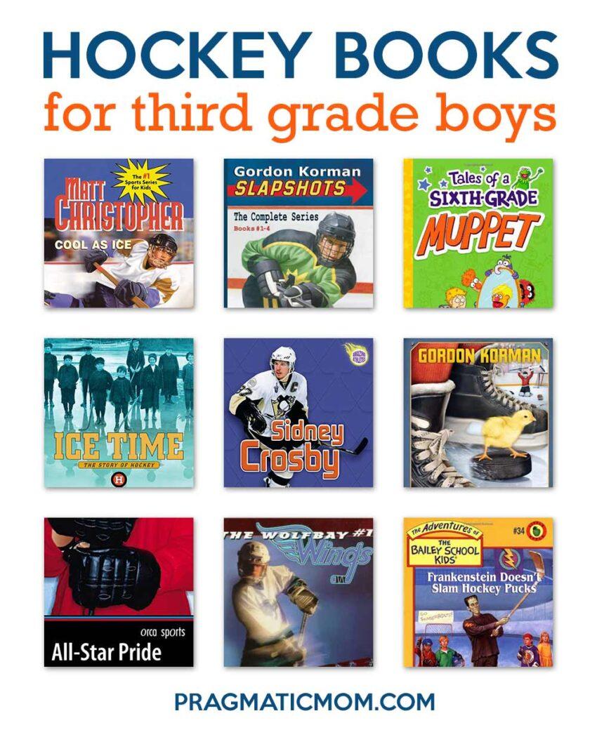 Hockey Books for 3rd Grade Boys