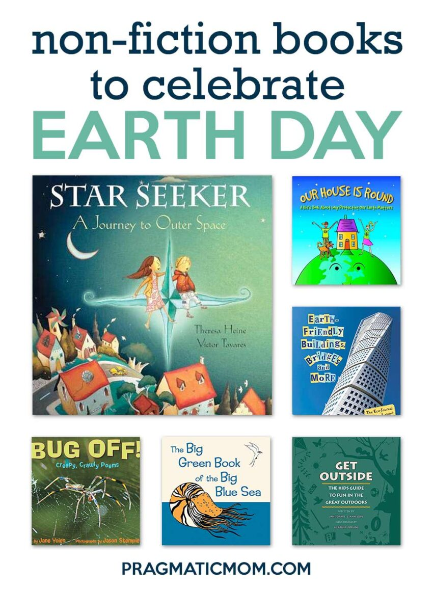 Non-Fiction Books for Kids to Celebrate Earth Day