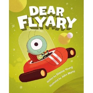 Dear Flyary, alien books for boys