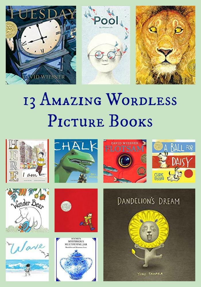 13 Amazing Wordless Picture Books