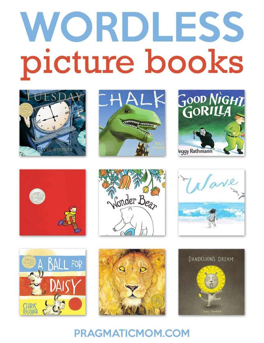 Amazing Wordless Picture Books