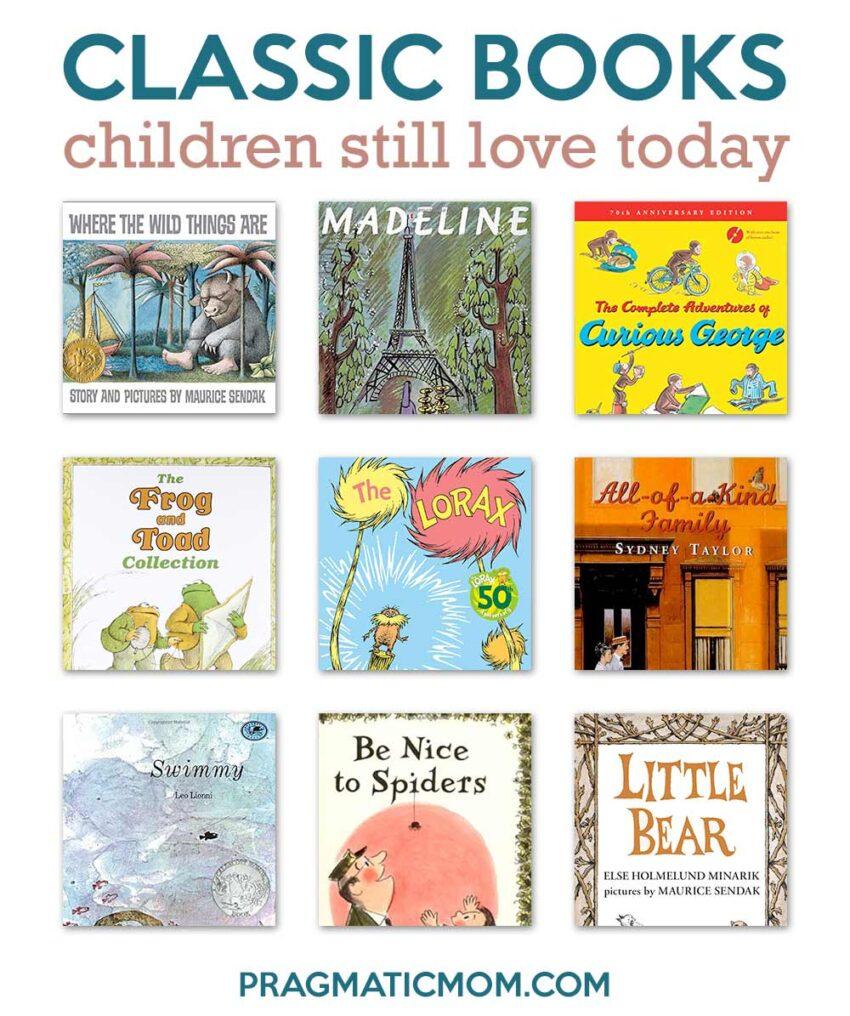 Classic Children's Books Still Beloved Now