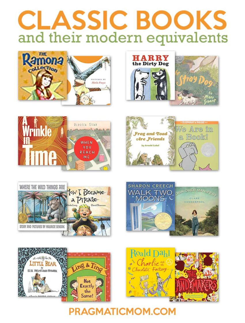 Best Old Fashioned Children's Books and Their Modern Day Equivalents