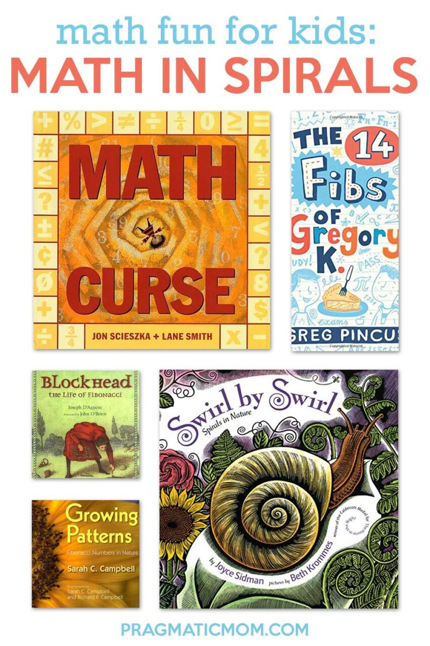 Books for Kids about Math of Spirals