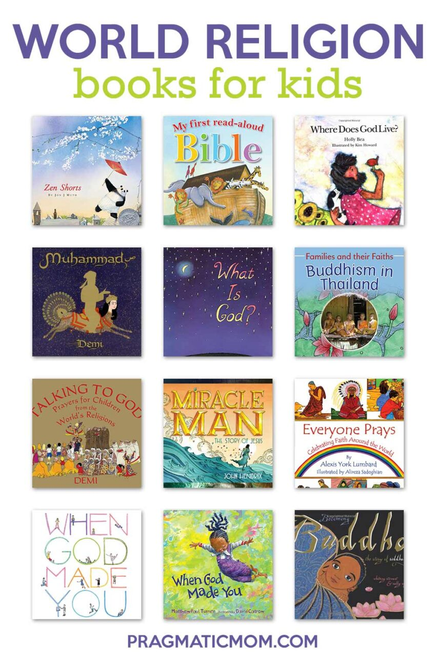 Best World Religion Children's Books